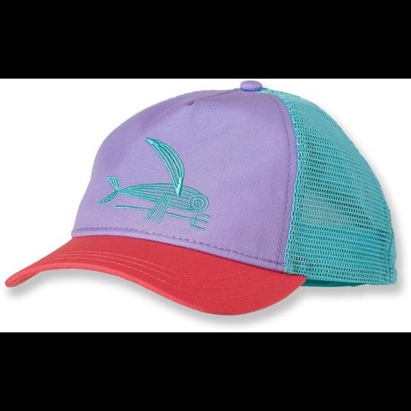 6ed1ea4f Patagonia Accessories | Flying Fish Trucker Hat | Poshmark